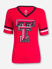Arena Texas Tech Gemstone Double T T-Shirt