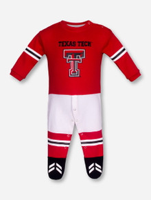 Texas Tech Double T Long Sleeve and Footie INFANT Onesie