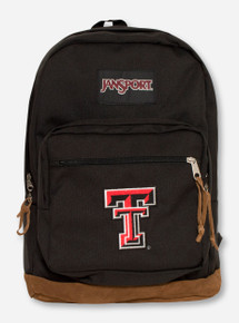 "Jansport Texas Tech ""Right Pack"" Backpack with Suede Trim"