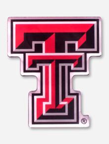 Texas Tech Acrylic Double T Magnet