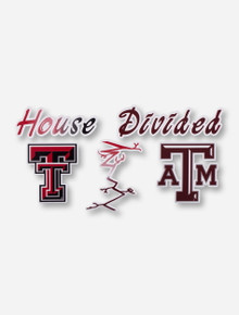 House Divided: Tech/A&M Decal