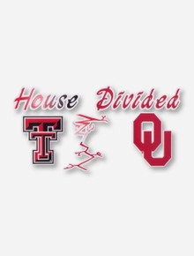 House Divided: Tech/OU Decal