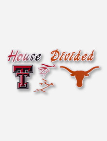 House Divided: Tech/UT Decal