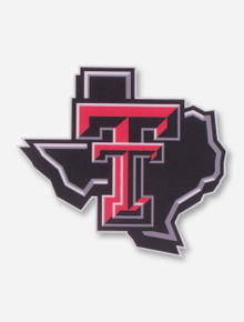 Texas Tech Lone Star Pride Decal