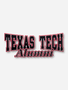 Texas Tech Alumni Decal