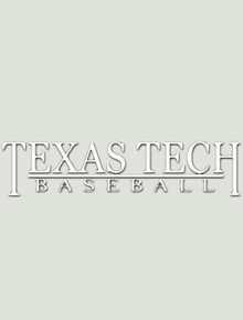 Texas Tech Baseball Decal