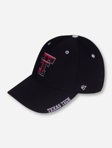 "47 Brand Texas Tech ""Compressor"" Black YOUTH Cap"