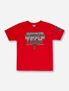 2015 Official Wreck 'Em Tech Game Day Red YOUTH T-Shirt