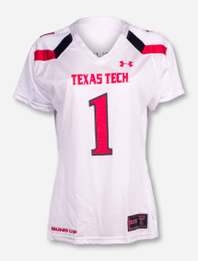 "Under Armour Texas Tech ""Replica"" #1 Women's Jersey"