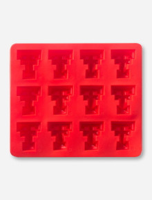 Texas Tech Double T Red Silicone Ice Tray