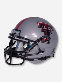 Schutt Texas Tech Grey Mini Helmet