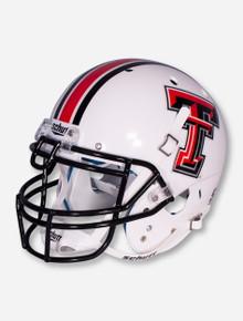 Schutt Texas Tech White Authentic Helmet