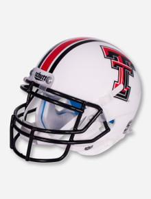 Schutt Texas Tech White Mini Helmet