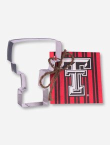 Texas Tech Double T Cookie Cutter