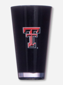 Texas Tech Double T on Black Tumbler