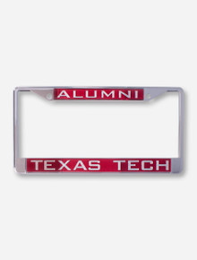 Alumni / Texas Tech University Red License Plate Frame