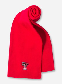 Texas Tech Double T Red Scarf