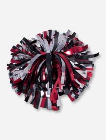 Red & Black Pom Pom