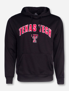 Arena Texas Tech Arch on Black with Illusion Graphic Hoodie