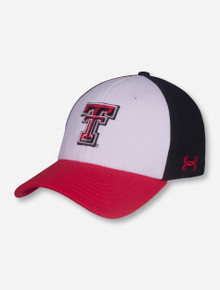 Under Armour Texas Tech Tri Color  Fitted Cap