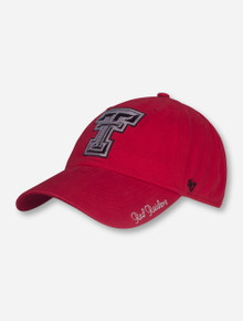 "47 Brand Texas Tech ""Sparkle"" Women's Adjustable Cap"