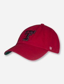 "47 Brand Texas Tech ""Franchise"" Fitted Cap"