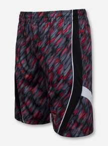Arena Texas Tech Double T on Arrow Pattern Shorts