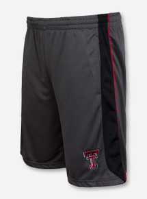Arena Texas Tech Double T on Tonal Charcoal Shorts