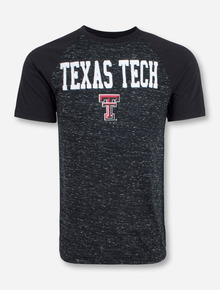 Arena Texas Tech Patch on Black Raglan