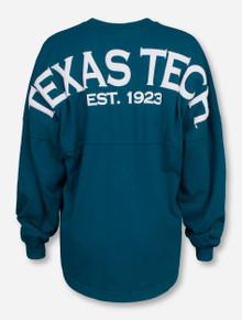 Texas Tech Spirit Jersey on Peacock Long Sleeve
