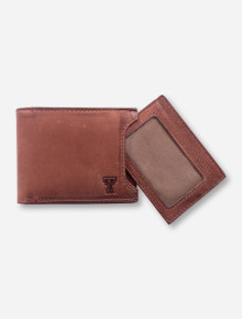 Jack Mason Texas Tech Campus Sliding 2 in 1 Wallet