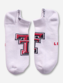Under Armour Texas Tech Double T on White Performance Socks