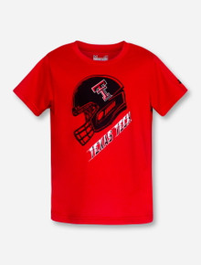 "Under Armour Texas Tech ""Rush"" TODDLER Red T-Shirt"