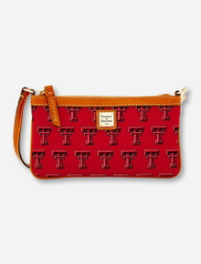 Dooney & Bourke Texas Tech Double T Large Slim Wristlet