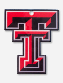 Texas Tech Double T Steel Magnet
