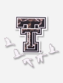 Texas Tech Camo Double T and Water Fowl