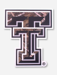Texas Tech Large Camo Double T