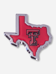 Texas Tech Lone Star Pride on Red Emblem