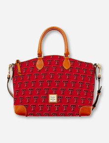 Dooney & Bourke Texas Tech Double T Satchel