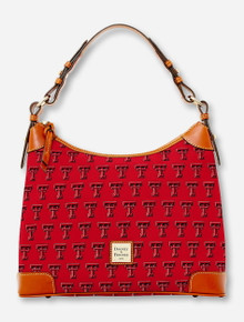 Dooney & Bourke Texas Tech Double T Hobo Bag