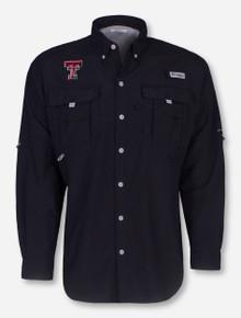 "Texas Tech Columbia ""Bahama"" Long Sleeve Fishing Shirt"