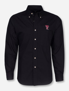 "Antigua Texas Tech ""Dynasty"" Double T Long Sleeve Dress Shirt"