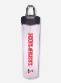 Vertical Texas Tech Water Bottle
