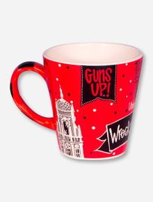 Handpainted Texas Tech Red Coffee Mug