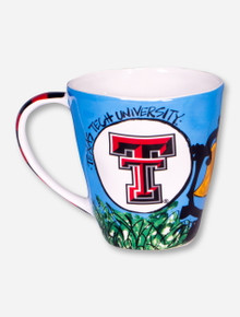Texas Tech Bangin' Bertha Coffee Mug