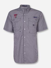 "Texas Tech Columbia ""Super Bonehead"" Short Sleeve Dress Shirt"