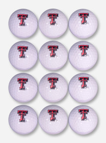 Team Golf Dozen Pack Texas Tech Double T Golf Balls