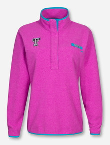 "Columbia Texas Tech ""Harborside"" Fleece Women's Pullover"