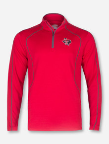 "Under Armour Texas Tech ""Compete"" Lone Star Pride Quarter Zip Pullover"