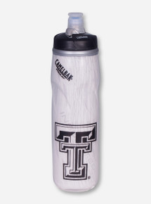 "Camelbak Texas Tech ""Podium Big Chill"" Double T White Water Bottle"
